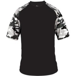 Camo Sport T-Shirt (White/ Royal Camo - XL), Men's, White/ Royal Green found on Bargain Bro India from Overstock for $38.03