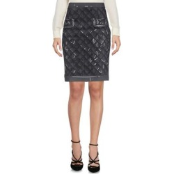 Knee Length Skirt - Gray - Moschino Skirts found on Bargain Bro Philippines from lyst.com for $163.00