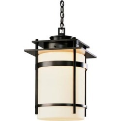 Hubbardton Forge Banded 22 Inch Tall 1 Light Outdoor Hanging Lantern - 365894-1024 found on Bargain Bro Philippines from Capitol Lighting for $2552.00