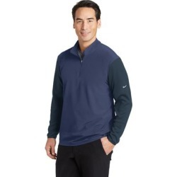Nike Men's Dri-FIT Fabric Mix 1/2 Zip Cover-Up found on Bargain Bro from Overstock for USD $54.71