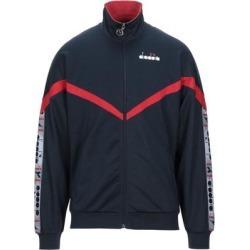 Sweatshirt - Blue - Diadora Jackets found on MODAPINS from lyst.com for USD $64.00