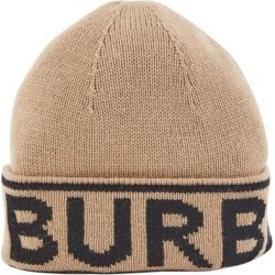 Logo Cap - Natural - Burberry Hats found on Bargain Bro from lyst.com for USD $182.40