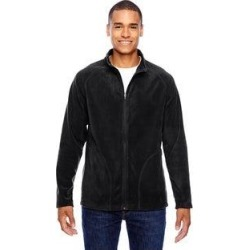 Campus Microfleece Men's Black Jacket (M)(polyester) found on MODAPINS from Overstock for USD $26.99