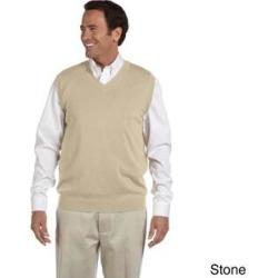 Men's Lightweight Cotton V-neck Vest (M,Stone), Beige found on MODAPINS from Overstock for USD $28.97
