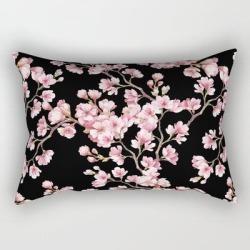 Rectangular Pillow | Cherry Blossom by Prizmatic - Small (17