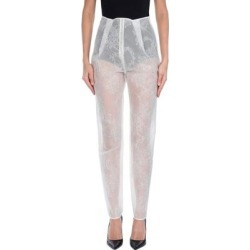 Casual Pants - White - Giamba Pants found on MODAPINS from lyst.com for USD $109.00