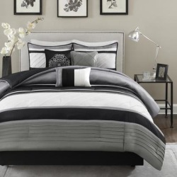 Porch & Den Denvers 7-piece Comforter Set found on Bargain Bro from Overstock for USD $68.38