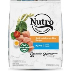Nutro Natural Choice Puppy Chicken & Brown Rice Recipe Dry Dog Food, 13-lb bag