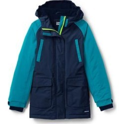 Little Girls Squall Waterproof Winter Parka - Lands' End - Blue - M found on Bargain Bro from landsend.com for USD $38.81