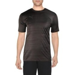 Puma Mens T-Shirt Football Running (Puma Black/Phantom Black - S), Men's(polyester) found on Bargain Bro from Overstock for USD $12.38