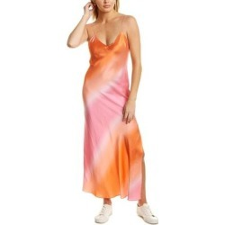 Dannijo Silk Maxi Slip Dress (XS), Women's, Pink found on MODAPINS from Overstock for USD $259.59