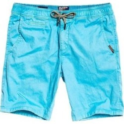 Superdry Mens Sunscorched Khaki, Chino Shorts Drawstring (Glacier Blue - 36), Men's(cotton, printed) found on Bargain Bro India from Overstock for $19.99