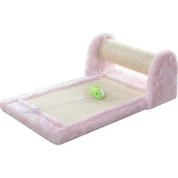 Armarkat Premium Pink Rolling Scratcher with Toy for Cats, Medium, Small found on Bargain Bro Philippines from petco.com for $19.10