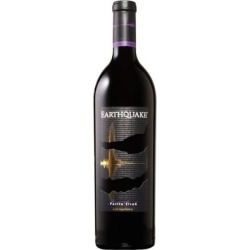 Earthquake Petite Sirah 2017 750ml found on Bargain Bro Philippines from WineChateau.com for $29.97