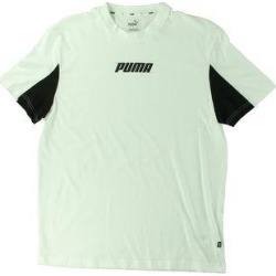 Puma Mens Rebel T-Shirt F Cotton - White (M), Men's found on Bargain Bro from Overstock for USD $12.46
