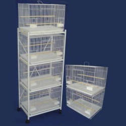 YML White Breeding Bird Cages With Stand, Small found on Bargain Bro from petco.com for USD $303.99