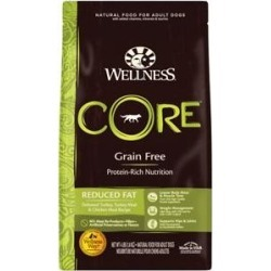 Wellness CORE Grain Free Reduced Fat Turkey & Chicken Recipe Dry Dog Food, 4-lb bag found on Bargain Bro Philippines from Chewy.com for $17.39