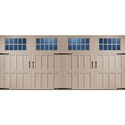 Classica 3000 Northampton Garage Door - Sandtone 16 x 7 Madeira Window found on Bargain Bro from samsclub.com for USD $2,431.24
