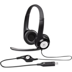Logitech 981000014 H390 Headset with Noise-Canceling Microphone found on Bargain Bro India from webstaurantstore.com for $31.99
