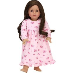 Sophia's Doll Clothing - Light Pink Floral Nightgown for 18'' Doll found on Bargain Bro Philippines from zulily.com for $7.99