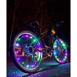 Tech Zebra Bike Accessories Multicolor - Multicolor LED Bicycle Wheel Light found on Bargain Bro from zulily.com for USD $12.15