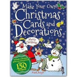 Sterling Art Activity Books - Make Your Own Christmas Cards and Decorations Paperback found on Bargain Bro India from zulily.com for $6.39