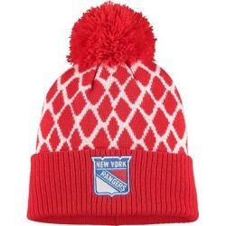 New York Rangers adidas Culture Netminder Cuffed Knit Hat - Red found on Bargain Bro from Fanatics for USD $19.00