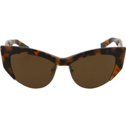 Mm Lina I - Brown - Max Mara Sunglasses found on Bargain Bro India from lyst.com for $200.00