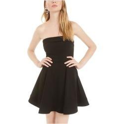 B DARLIN Black Mini Dress 9\10 found on Bargain Bro from Overstock for USD $11.38