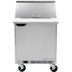 "Beverage Air SPE27-12M-A 27"" 1 Door Mega Top Refrigerated Sandwich Prep Table"