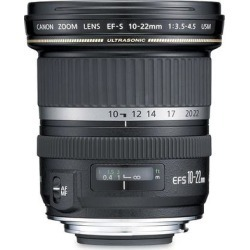 Canon EF-S 10-22 f/3.5-4.5 USM Ultra Wide Zoom Lens found on Bargain Bro from Crutchfield for USD $493.24