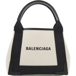 Navy Cabas Xs Bag - Black - Balenciaga Totes found on Bargain Bro from lyst.com for USD $703.00