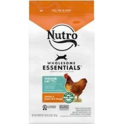 Nutro Wholesome Essentials Indoor Chicken & Brown Rice Recipe Adult Dry Cat Food, 3-lb bag
