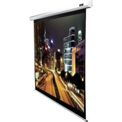Elite Screens Spectrum2Electric Wall/Ceiling Mounted Projector Screen in White, Size 77.0 H x 111.9 W x 3.5 D in | Wayfair SPM120H-E12 found on Bargain Bro Philippines from Wayfair for $749.99
