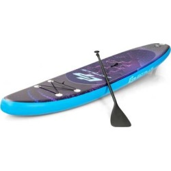 Costway 11' Inflatable Stand Up Paddle Board Surfboard with Bag Aluminum Paddle Pump-L found on Bargain Bro Philippines from Costway for $299.95