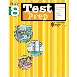 Flash Kids by Sterling Publishing Educational Workbooks - Test Prep: Grade 8 Workbook found on Bargain Bro from zulily.com for USD $5.06