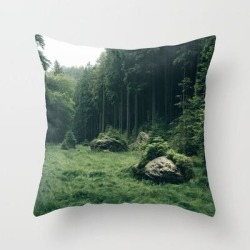 Forest Field - Landscape Photography Couch Throw Pillow by Michael Schauer - Cover (16