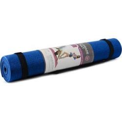 Zenzation Athletics Dark - Dark Blue Yoga Sticky Mat with Strap found on Bargain Bro Philippines from zulily.com for $15.99