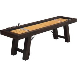 Picket House Furnishings Asher Shuffleboard Table (Brown - Assembly Required - Shuffleboard) found on Bargain Bro Philippines from Overstock for $925.49