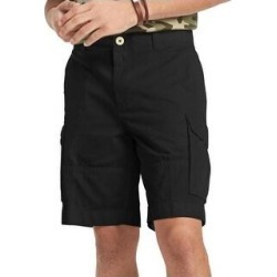 Tommy Hilfiger Mens Cargo Shorts Regular Fit Casual (Black - 30), Men's(cotton) found on Bargain Bro from Overstock for USD $20.62
