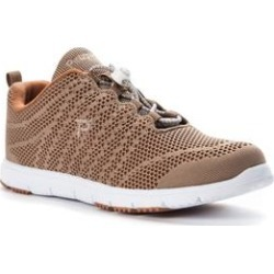 Extra Wide Width Women's Travel Walker EVO Sneaker by Propet in Taupe Sienna (Size 8 1/2 WW) found on Bargain Bro Philippines from Woman Within for $69.99