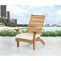 Rockport Brown Outdoor Chair - Linon OD17T3601U found on Bargain Bro India from totally furniture for $137.09