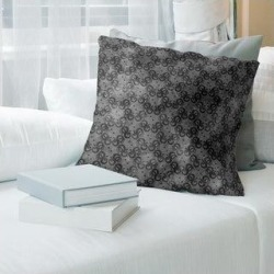 Porch & Den Camwall Snakes Pattern Throw Pillow (14 x 14 - Black - Polyester) found on Bargain Bro from Overstock for USD $36.09