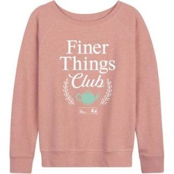 Hybrid The Office Women's Sweatshirts and Hoodies DESERT - Desert Pink 'Finer Things Club' Slouchy Pullover - Women & Plus found on Bargain Bro India from zulily.com for $26.99
