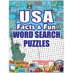 Dover Publications Art Activity Books - USA Facts & Fun Word Search Puzzles Paperback found on Bargain Bro from zulily.com for USD $8.35