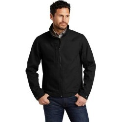 CornerStone CSJ60 Duck Bonded Soft Shell Jacket in Black size Medium | Fleece found on Bargain Bro Philippines from ShirtSpace for $68.95