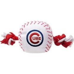 Pets First Chicago Cubs Nylon Baseball Rope Dog Toy found on Bargain Bro India from Chewy.com for $12.99
