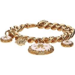 Pink Trésor De La Mer Charm Bracelet - Metallic - Versace Bracelets found on Bargain Bro from lyst.com for USD $376.20