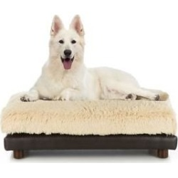 Club Nine Pets Soho Milo Sofa Cat & Dog Bed, Brown, Large found on Bargain Bro from Chewy.com for USD $121.59