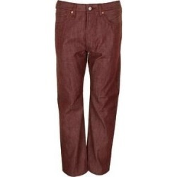 Levi's Men's 501 Original Shrink to Fit Button Fly Jeans (Tibitian Red 2130 - 33X32)(canvas) found on MODAPINS from Overstock for USD $49.97